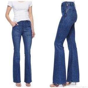 FRAME Le Flare de Francoise Indigo Jeans! 26